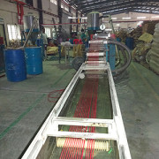 RED PVC insulation Production Line