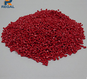 Red PVC compound