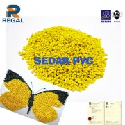 Yellow PVC Row Material with MS Certificate